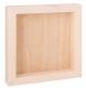 Holzkörper 3D 25x30x3cm